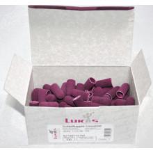 Колпачки абразивные d 10 мм РОЗОВЫЕ КОРОБКА