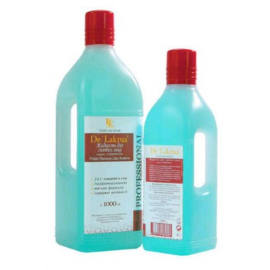Жидкость без ацетона с глицерином и витамином Е