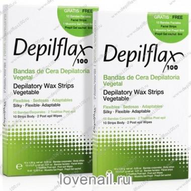 Восковые полоски Depilflax