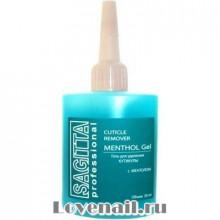 Гель для удаления кутикулы с ментолом Cuticle remover Menthol